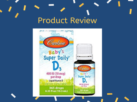Product Review: Carlson Vitamin D Baby Drops