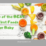 platter of baby food with title of post