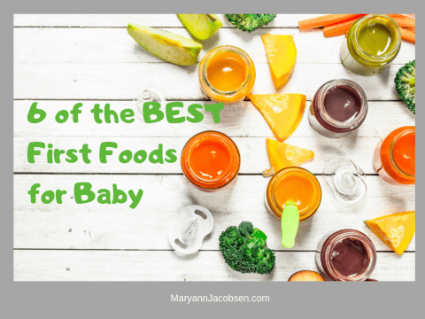 6 of the Best (and Easiest) First Foods for Baby
