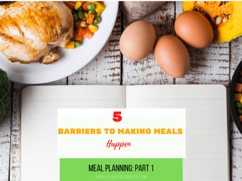 Top 5 Barriers to Making Meals Happen