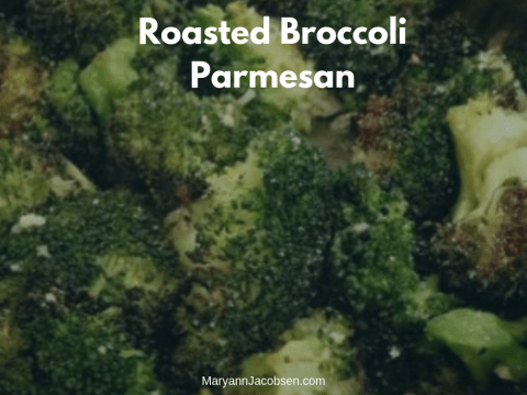 Roasted Broccoli Parmesan [Recipe]