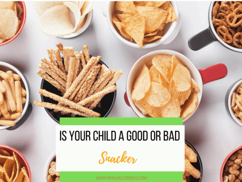 "Is Your Kid a ""Good"" or ""Bad"" Snacker?"