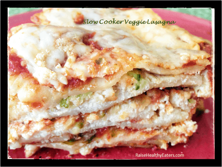 Post image for Slow Cooker Veggie Lasagna [Recipe]
