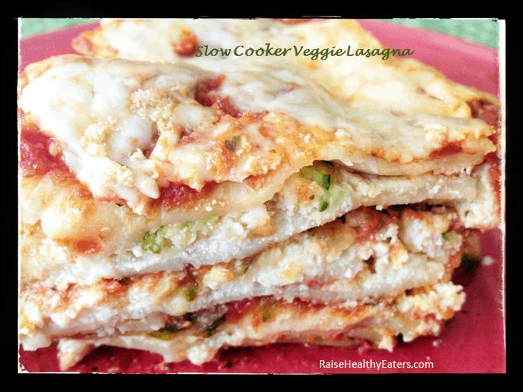 Slow Cooker Veggie Lasagna [Recipe]