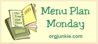 Post image for Weekly Meal Plan: Monday May 10th