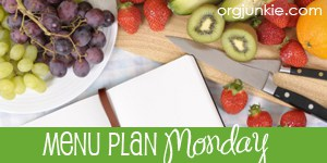 Post image for Weekly Meal Plan: Tuesday April 2nd