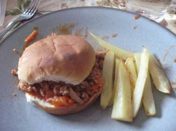 Post image for Family Dinners: Healthy Sloppy Joes