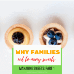families eat sweets