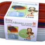 Easy Lunch Boxes four-pack container