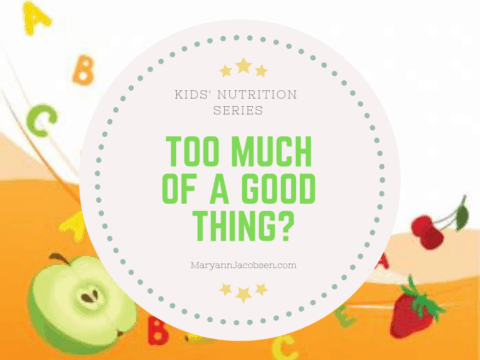 Kids Nutrition (Part 2): Why Excess Nutrition is a Concern for Today's Kids