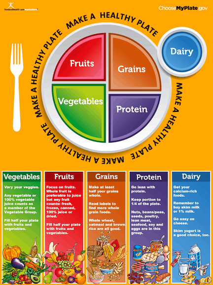The New Food Icon — MyPlate (and Weekly Meal Plan)