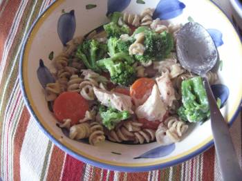 Chicken Pasta Primavera [Recipe]