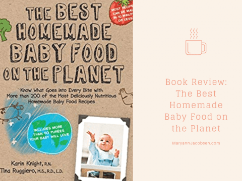 The Best Homemade Baby Food on the Planet Giveaway (and Weekly Meal Plan)