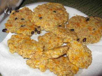 Wild Rice Cakes With Smoked Mozzarella And Pecans Recipe ...