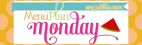 Weekly Meal Plan: Monday July 15th