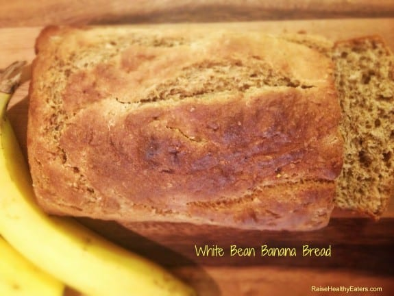 Post image for White Bean Banana Bread [Recipe]