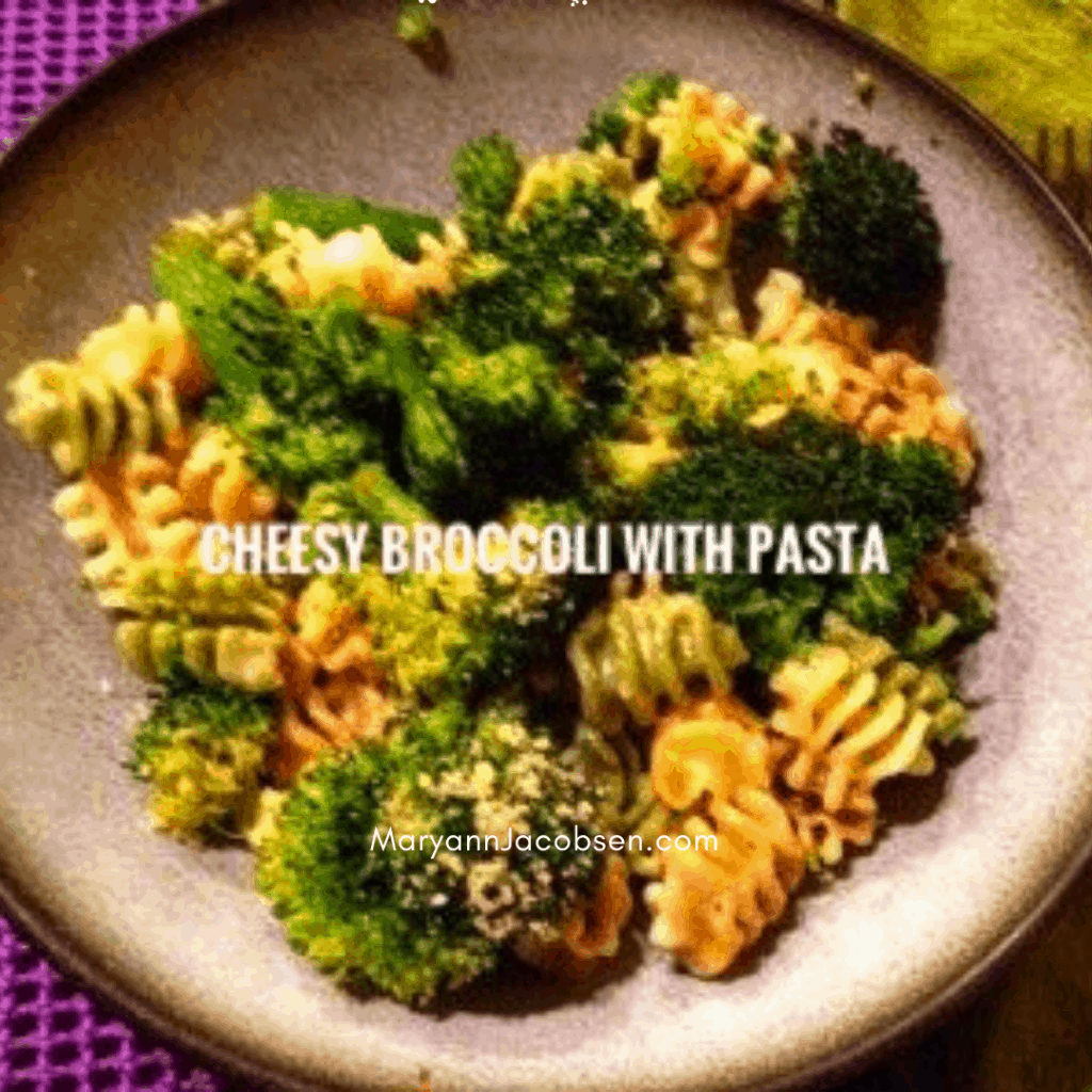 cheesy pasta with broccoli