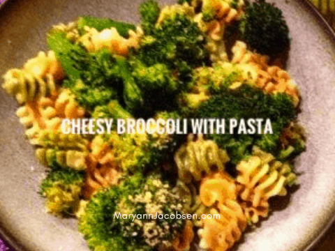 Cheesy Pasta with Broccoli [Recipe]