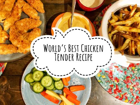 World's Best Chicken Tender Recipe