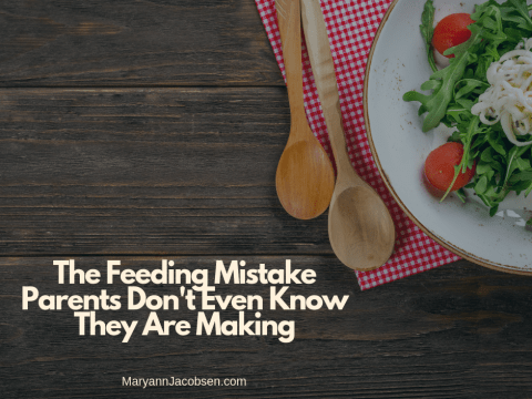 The Feeding Mistake Parents Don't Even Know They Are Making