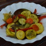roasted summer veggies recipe