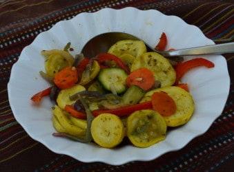 Roasted Summer Veggies [Recipe]