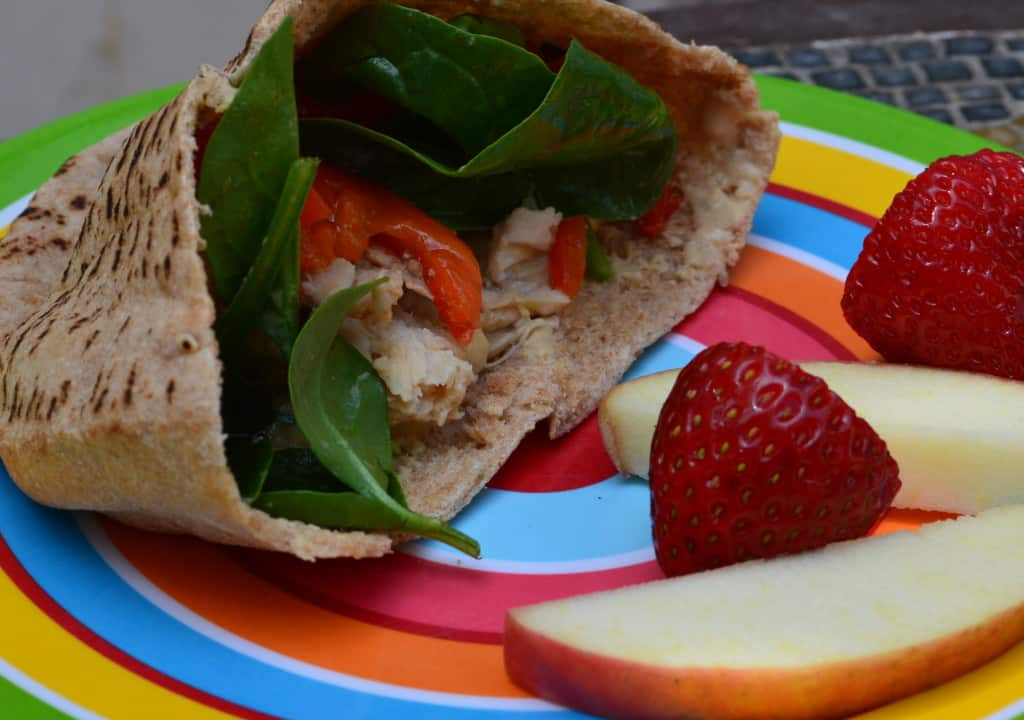 chicken roasted red pepper sandwich