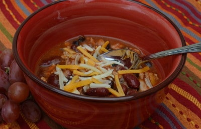 Holiday Slow Cooker Turkey Chili [Recipe]