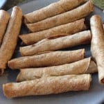 chicken and bean taquitos