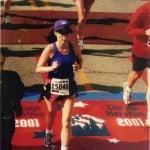 Maryann running a marathon