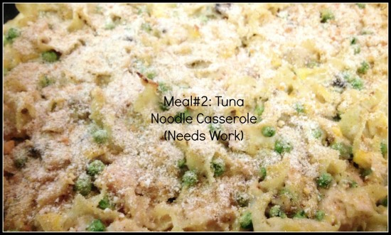 30 Meal Challenge (Meals 2 & 3): Tuna Noodle Casserole & Turkey Chili