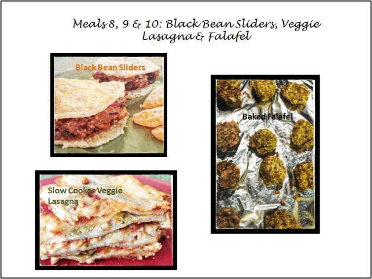 30 Meal Challenge (Meals 8-10): Vegetarian Dishes
