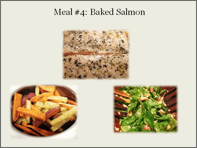 30 Meal Challenge (Meal #4): Salmon Prepared 3 Ways