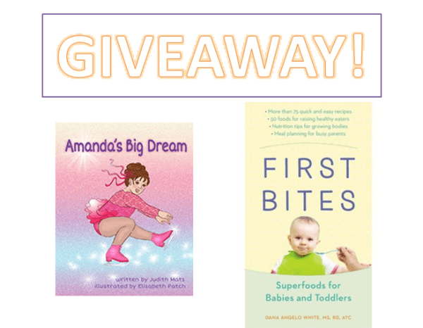 Two Giveaways: Amanda's Big Dream & First Bites