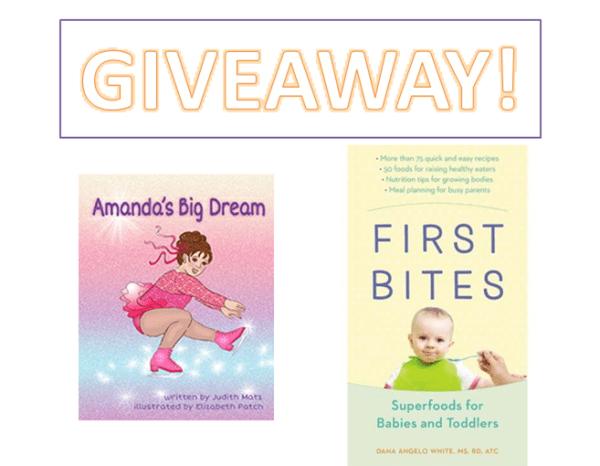 Two Giveaways: Amanda's Big Dream & First Bites