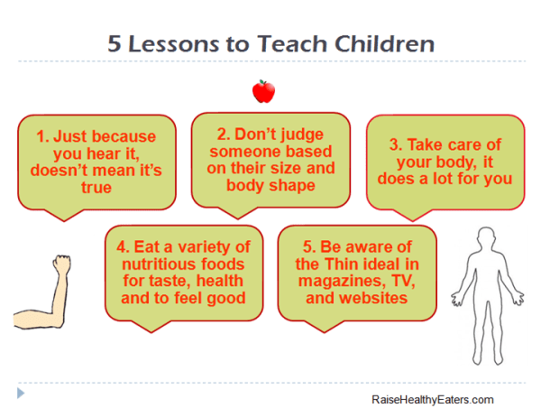 5 Lessons I Vow to Teach My Children About Weight and Body Shape