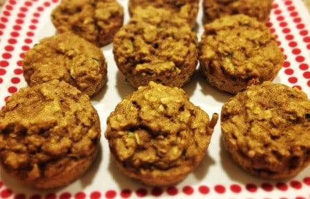 Veggie Oat Muffins [Recipe]