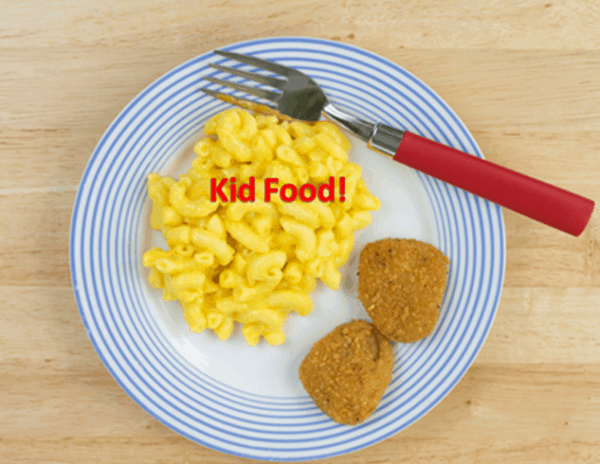 Why I'm Neither For Nor Against Kid Food