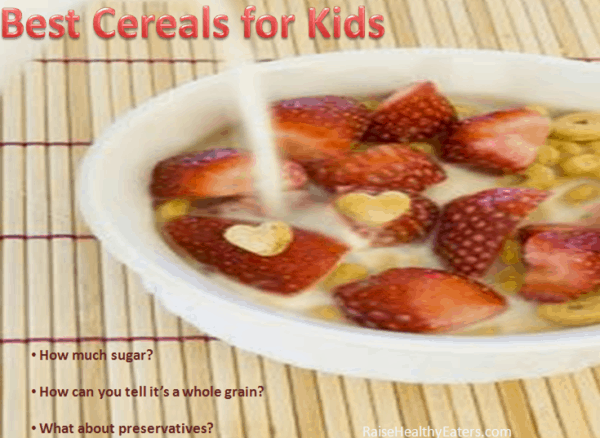10 of the Best Cereals for Kids