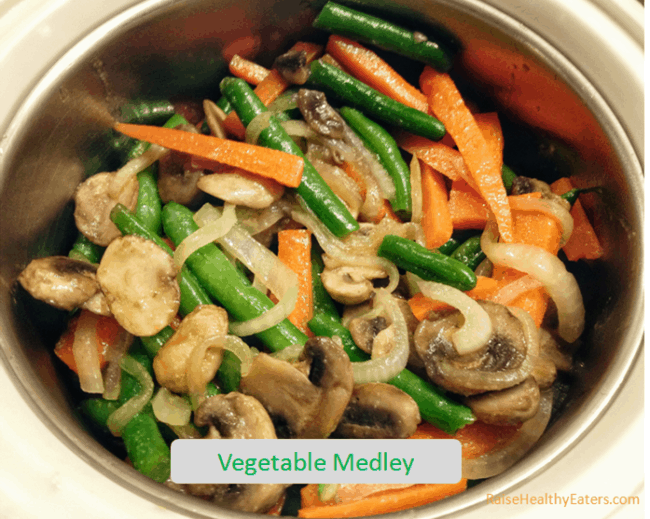 Vegetable Medley Restaurant Menu