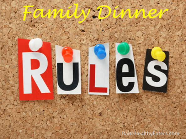 7 Dinner Rules that Will Transform Your Family' Mealtime