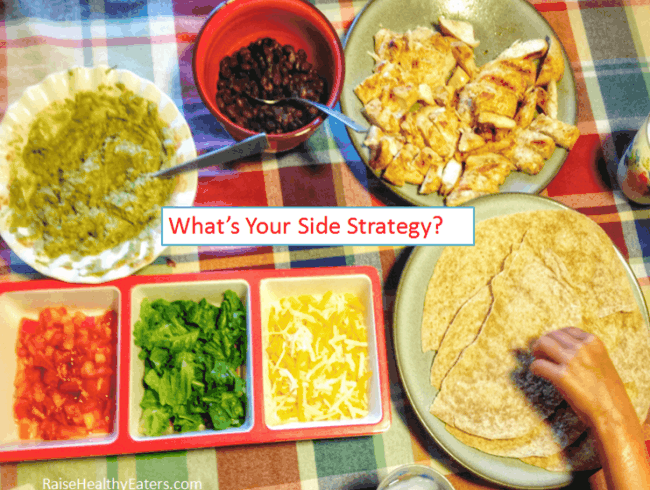 Post image for The Side Strategy That Has Saved My Family's Mealtime