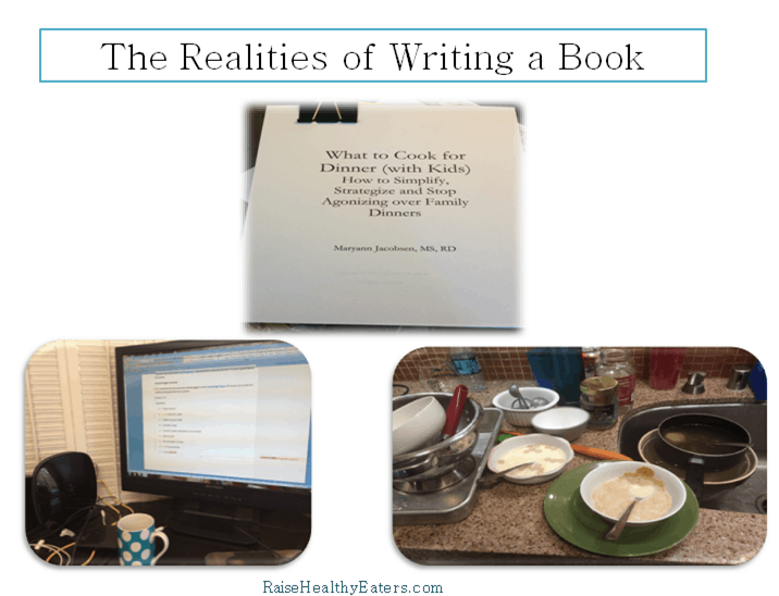 What Writing a Book Really Looks Like