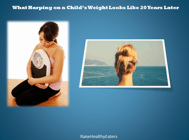 Post image for What Harping on a Child's Weight Looks Like 20 Years Later