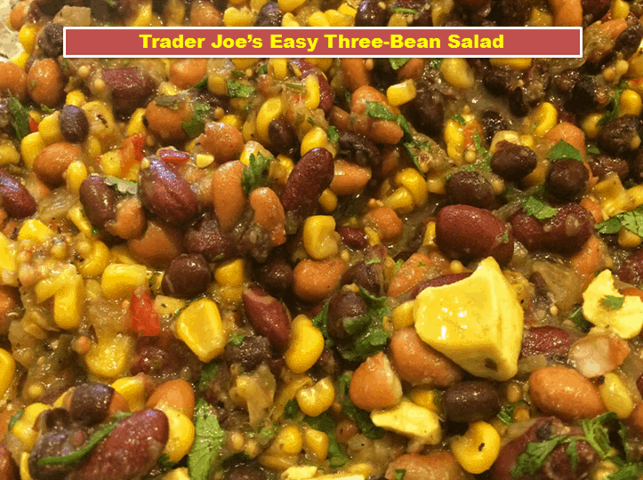 Trader Joe's Easy Three-Bean Salad