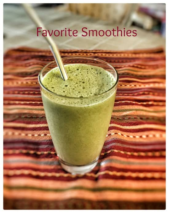 3 of My Family's Favorite Smoothies
