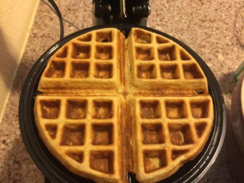 Oat Waffles -- yummy!