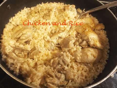 Easy One Pot Chicken and Rice