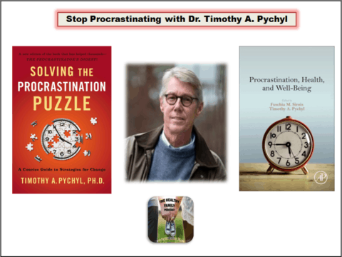 Stop Procrastinating with Timothy A. Pychyl [Podcast]