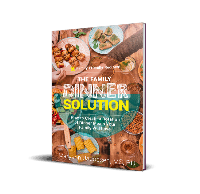 Big Family Dinner Solution book cover